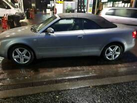 Audi a4 convertible cab. 1.8 turbo sport. Grey