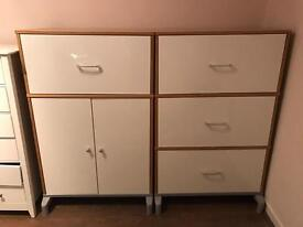 2 big filling cabinets/ cupboards/ storage for sale £10 each