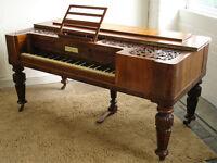 Beautiful Antique Square Piano