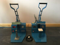 Laboratory/Workshop Hot Press. Manufactured by Rosslyn Precision Ltd. 2 in number for sale.