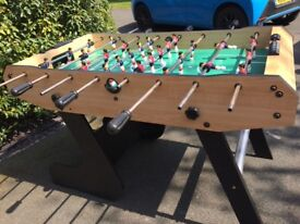 "Folding Football Table 4'7"" x 2'5"""