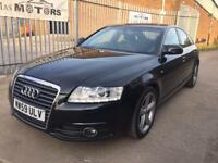 AUDI A6 2.0 TDI 136 S LINE DIESEL AUTOMATIC LEATHER SAT NAV