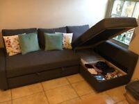 Corner sofa bed with storage - FRIHETEN IKea (RRP £450)