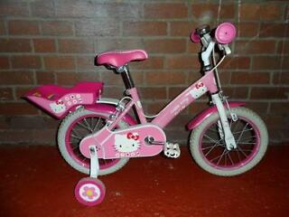"Hello Kitty Girls 14"" bike - Excellent Condition"