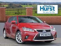 Lexus CT 200H ADVANCE (red) 2016-07-29