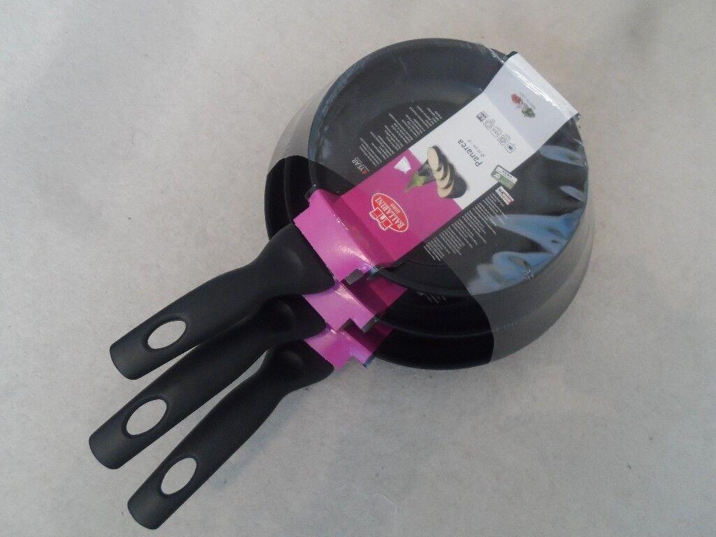 Frying Pans (20cm, 24cm, and 28cm) by Ballarini