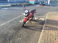 Honda CBF125 Red