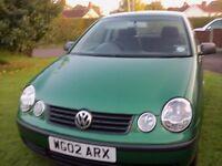 Volkswagen Polo 2002 1.4 5 Door