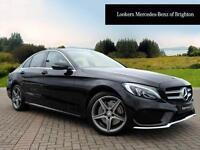 Mercedes-Benz C Class C200 D AMG LINE (black) 2016-05-27