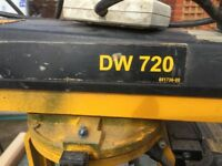 Dewalt Radial arm saw DW720