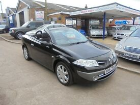 2007 57 renault megane 1.5 diesel dynamique convertible only 57,000 miles