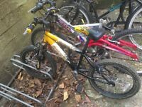 Raleigh bike 16 inch. Good condition