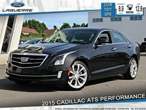 2015 Cadillac ATS 3.6L PERFORMANCE**AWD*CUIR*GPS*CAMERA*BLUETOOT