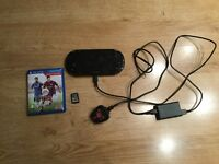 PlayStation Vita Black 16GB WIFI + 2 Games