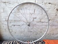 Rigida 700c (16 - 622) Alloy front wheel Strong and sturdy, running true.