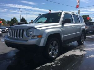 2011 JEEP PATRIOT North- HEATED SEATS, REMOTE START, SECURITY SY