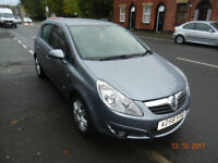 Vauxhall Corsa 1.4 Design - very good condition - low mileage