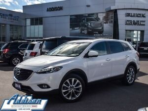 2014 Mazda CX-9 GT GPS leather sunroof