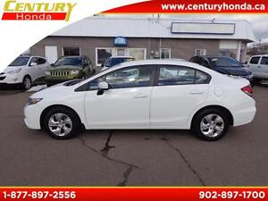 2014 Honda Civic Sedan LX+WARRANTY TO 100K