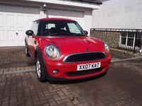 Mini First Hatch 1.4 Red Pepper Pack - MOT > 02/19