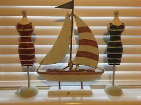Nautical wooden decorative ornaments