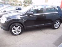 NISSAN QASHQAI ACENTA DCI,1461 cc 5 door hatchback,2 former keepers,runs and drives very well