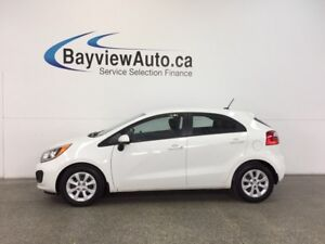 2015 Kia RIO LX- 6 SPEED|GDI|1.6L|PWR GROUP|BUDGET BUDDY!