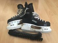 Bauer Impact 100 Ice Skates size Uk5.5