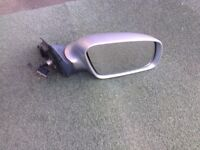 Audi A6 Driver Side Wing Mirror Silver To Fit C5 Models