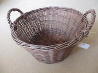 Log Basket, new.