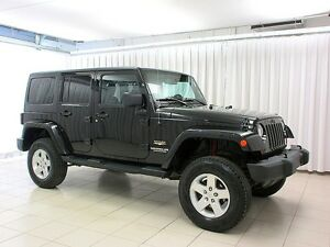 2013 Jeep Wrangler LIMITED SAHARA 4X4 SUV w/ REMOVABLE HARD TOP,