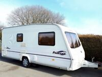 Bailey Pageant Monarch 2 Berth Caravan With Motor Mover - Lightweight Caravan