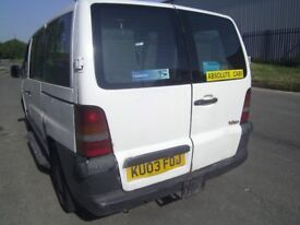 mercedes vito minibus taxi