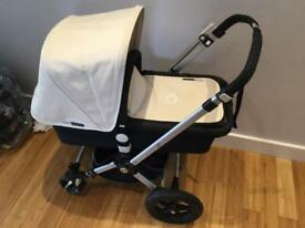 Bugaboo cameleon limited edition 007 denim & maxi cosi travel system