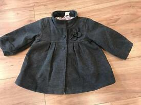 Beautiful Girls Coat 9-12 Months