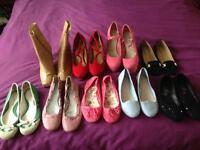 Size 3 job lot shoes