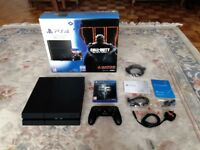 Sony Playstation 4 Console 1TB Ultimate Player Edition Black + Dishonored 2 PS4 Video Game Like New