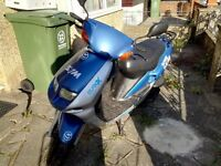 50cc..Scotter for sale...150£ good condition need new battery...start and drive....
