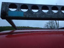 Roof rack for Toyota long wheel base van