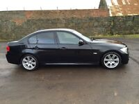 BMW 320d, Black 2008 M sport Automatic