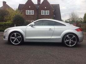 "Audi TT 90k Just serviced. 19"" s line alloys, tinted windows"