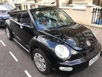 Vw beetle convertible 1.6 black for sale