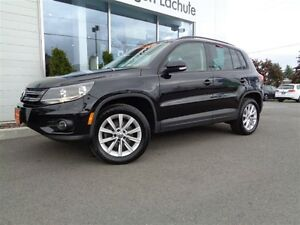 2014 Volkswagen Tiguan 4MOTION+TOIT PANO+A/C+SIMILICUIR