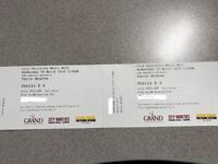 2 x Turin Brakes Tickets - City Varieties Leeds 28th March 2018