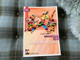 National 5 Bright red book Modern Studies