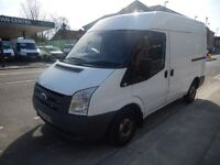 FORD TRANSIT.. SWB.. MEDIUM ROOF.. 2008 08 PLATE **NO VAT** VERY CLEAN AND CHEAP