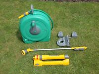 Hozelock Fast Reel 40m Wall Mounted + accessories