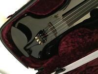 Black Fender FV-1 Electric Violin - Brand New