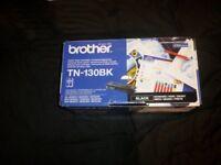 Genuine Brother TN-130BK Black Toner Cartridge HL-4040CN 9450CDN_Open Box