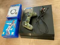 Playstation 4 PS4 with 11 games plus controller